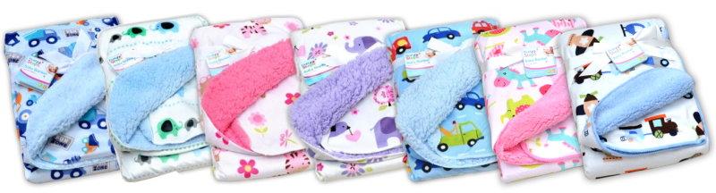 First Steps Extra weiche Babydecke