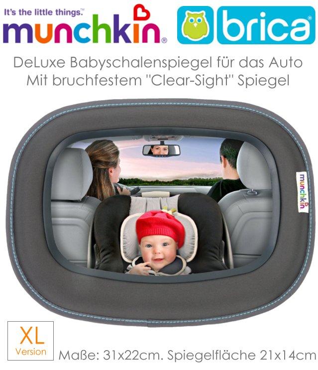 munchkin xl auto spiegel f r babyschale und kindersitz. Black Bedroom Furniture Sets. Home Design Ideas