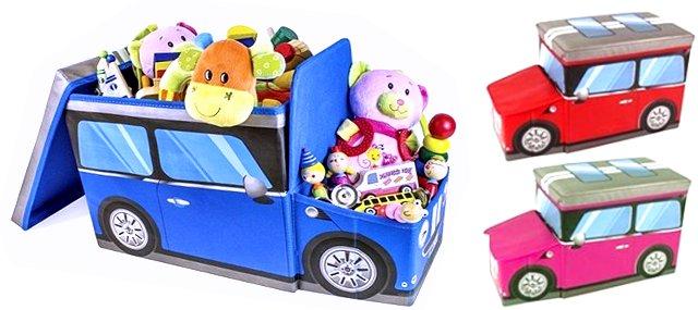 Spielzeugbox Aufbewahrungshocker