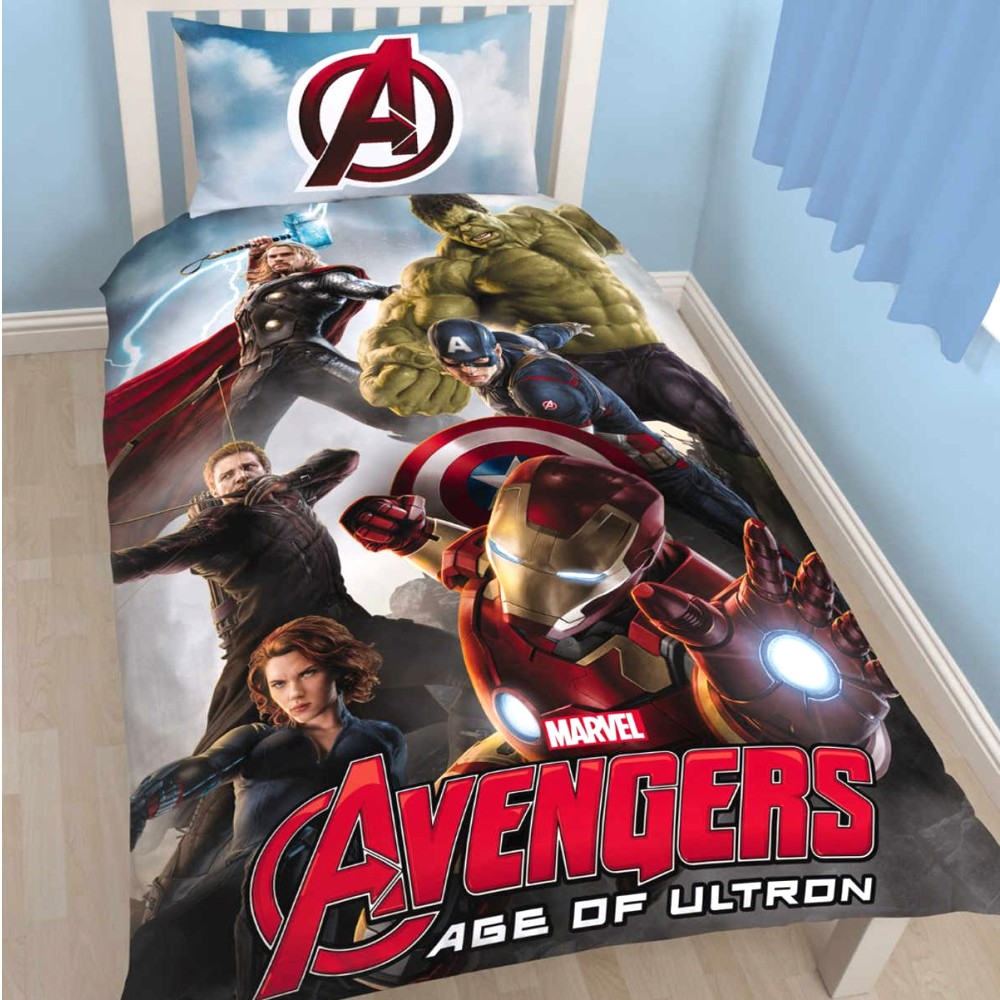 Marvel Kinder Bettwäsche Avengers Age Of Ultron
