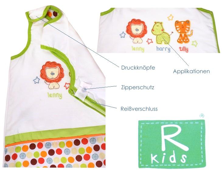 Kinder Schlafsack 6-12 Monate