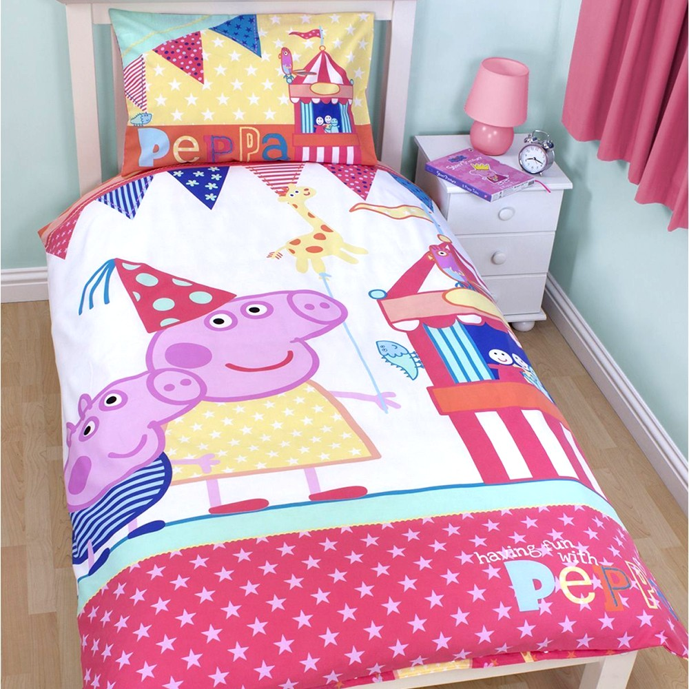 eone peppa pig kinderbettw sche peppa wutz 930. Black Bedroom Furniture Sets. Home Design Ideas