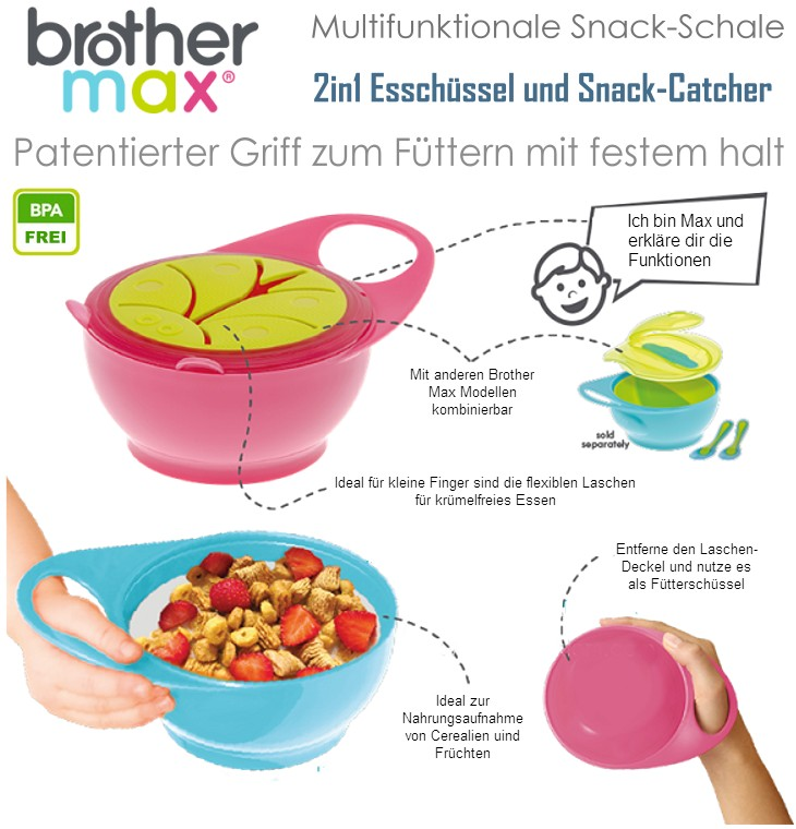 Brother Max Fütterschüssel Snack Catcher