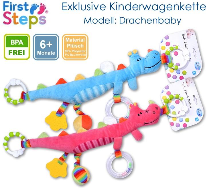 Plüsch Kinderwagenkette