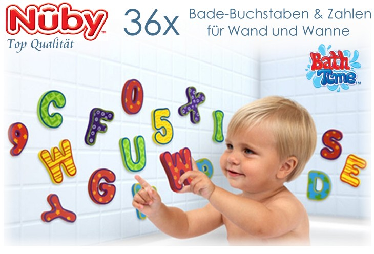 Nuby Badebuchstaben
