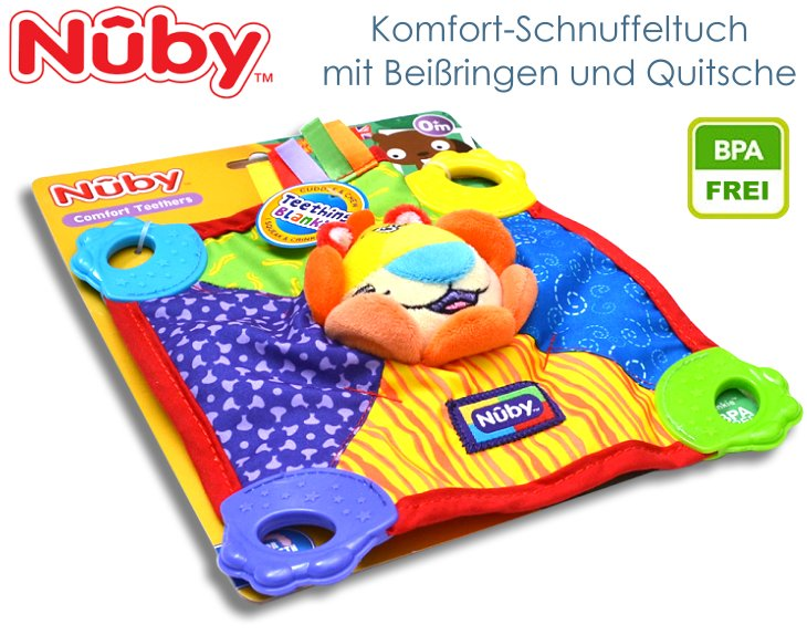 Nuby Schmusetuch Schnuffeltuch