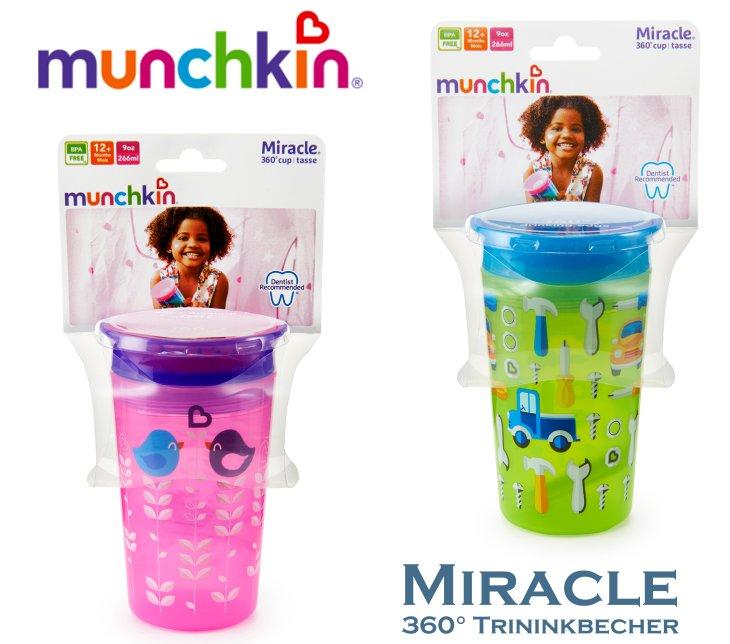 Munchkin Miracle Deco 360 Trinklernflasche