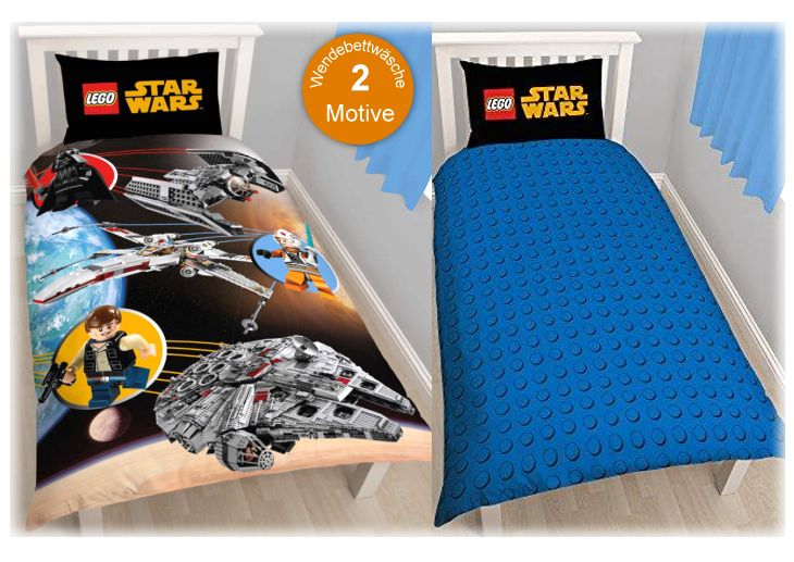 Disney: LEGO - STAR WARS Kinder-Bettwäsche Baumwolle-Mix (720)