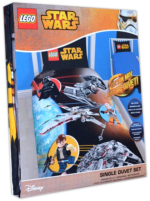 Disney: LEGO - STAR WARS Kinder-Bettwäsche Baumwolle-Mix (720)