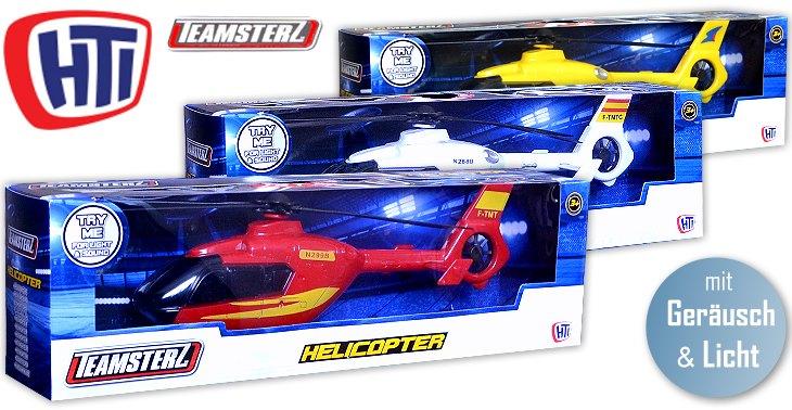 HTI Teamsterz Modell Hubschrauber