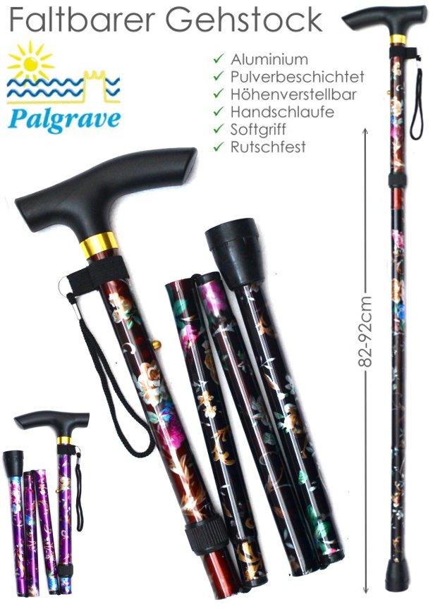Palgrave Gehstock mit Dekor