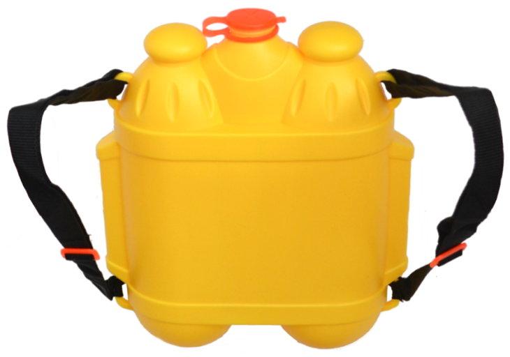 Wasserpistole mit ca. 3 Liter Rucksack-Tank