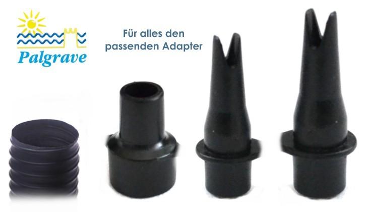 fusspumpe fu luftpumpe mit adapter f r luftmatratze. Black Bedroom Furniture Sets. Home Design Ideas
