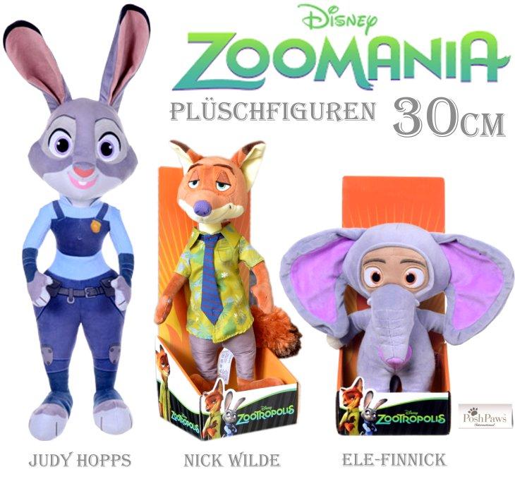 Zoomania Judy Hopps Hase Nick Wilde Ele Finnick Plüschtier