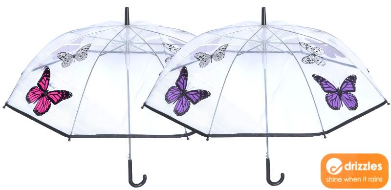 Hochwertiger Automatik Regenschirm in angesagten Farben