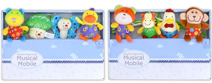 Baby Mobile mit Spieluhr für Kinderbett