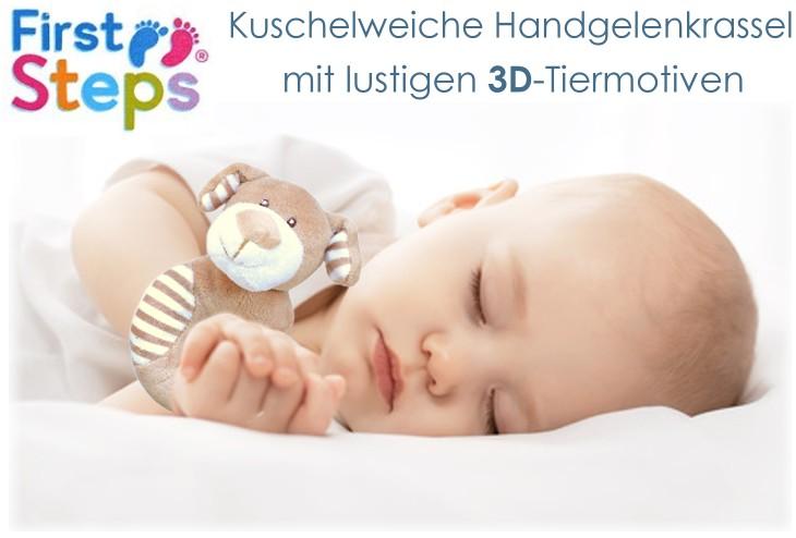 First Steps Handgelenk-Rassel Baby Greifling