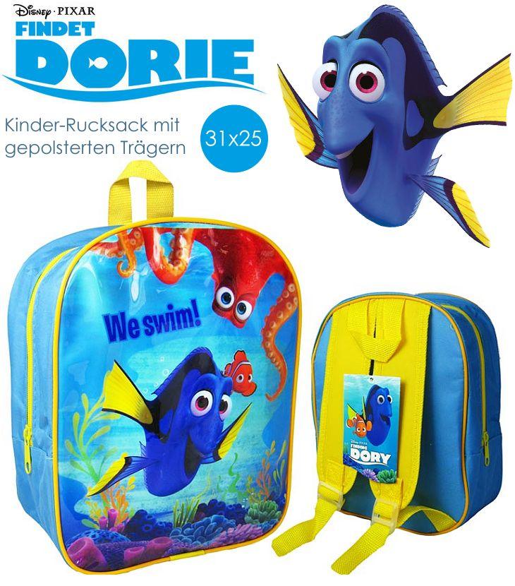 Kinder-Rucksack mit Motiven von Findet Dorie Dory