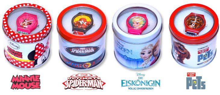 Disney Kinder Armbanduhr Die Eiskönigin Spiderman Minnie Maus