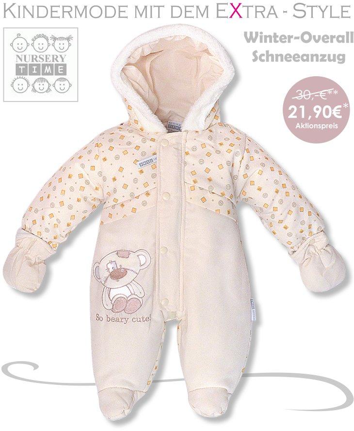 Baby Schneeanzug Schneeoverall Winteranzug Thermooverall