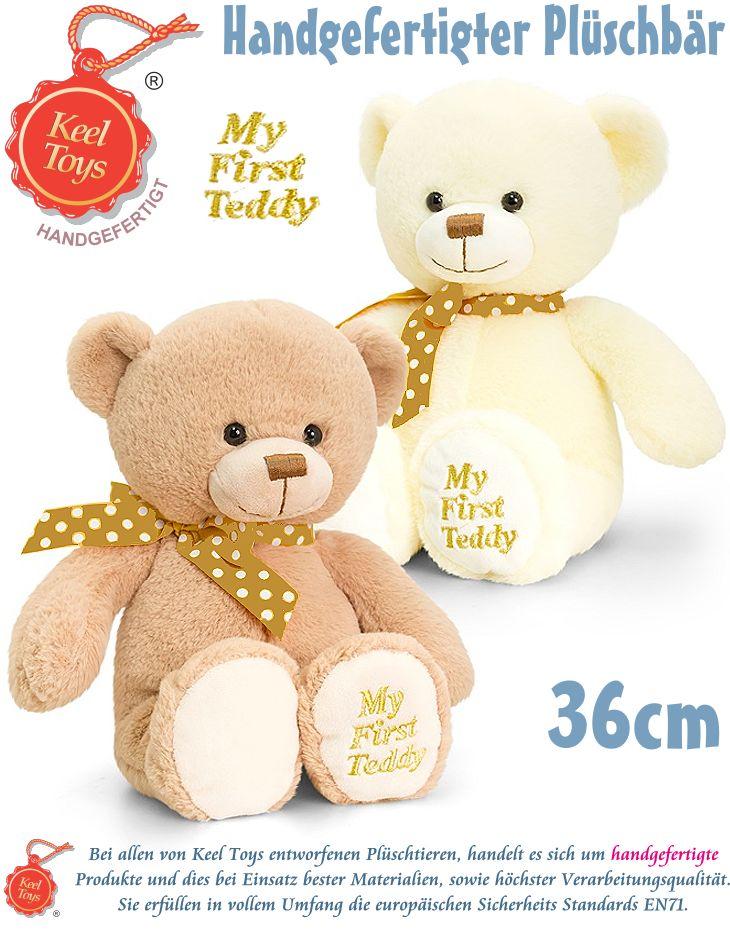 Keel Toys Plüsch Teddy Bär