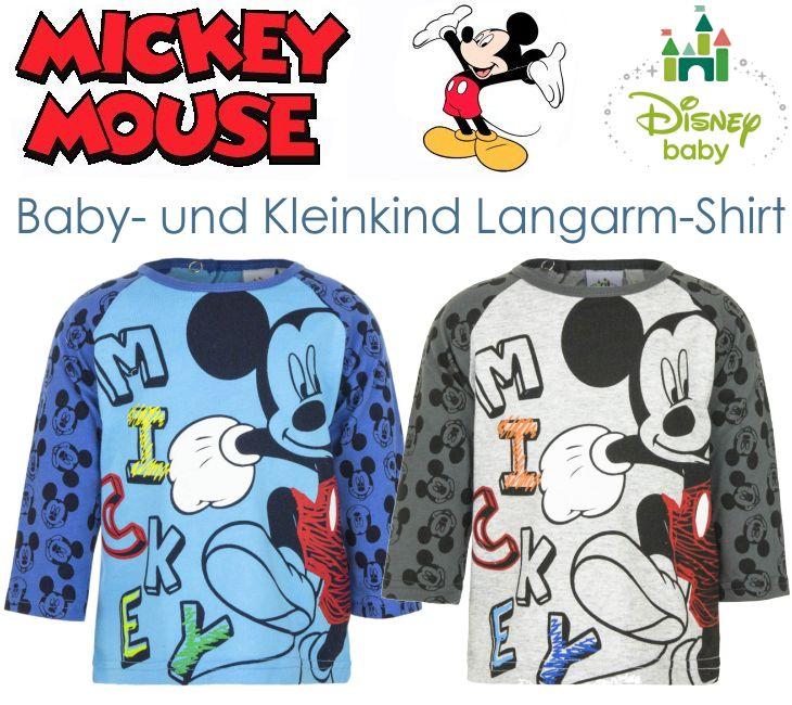 Disney Mickey Maus Kinder Longshirt