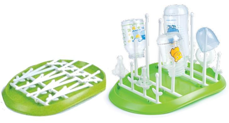 Abtropfgestell für Babyflaschen und Zubehör