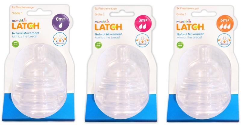 Munchkin Latch Flaschensauger Set