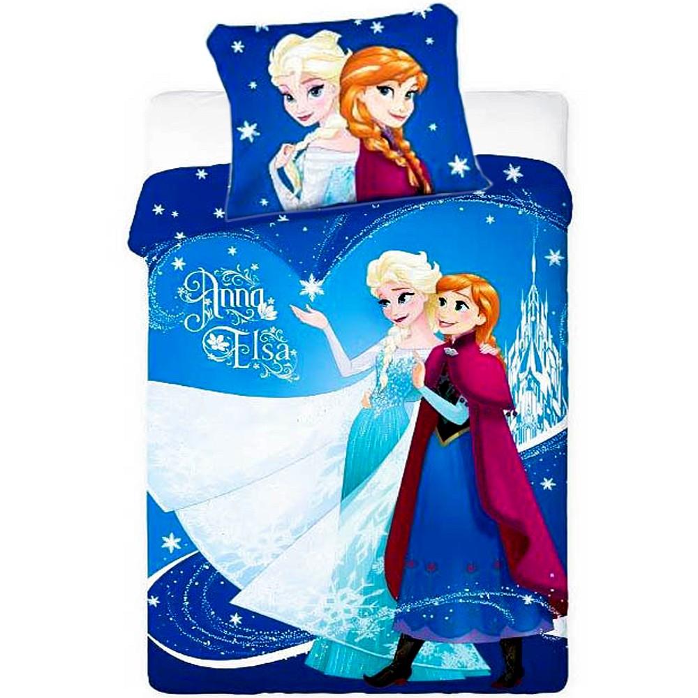 Disney Kinderbettwäsche Die Eiskönigin Anna Elsa 679