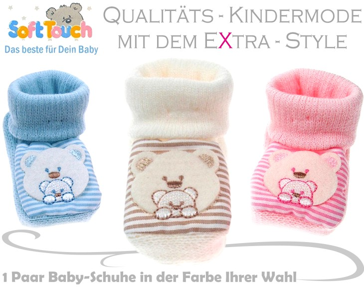 Soft Touch Babysocken Babyschuhe
