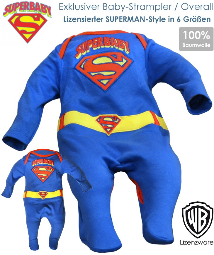 Superbaby Strampler Overall