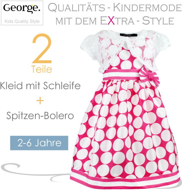 George Kinderkleid Pünktchen mit Boler