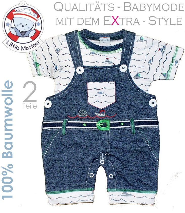 Little Mariner Baby Set Latzhose und Shirt