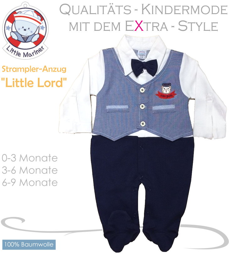 Little Mariner Baby Strampler-Anzug Little Lord