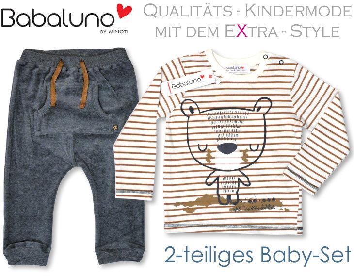 Babaluno 2 teiliges Babyset Hose und Shirt