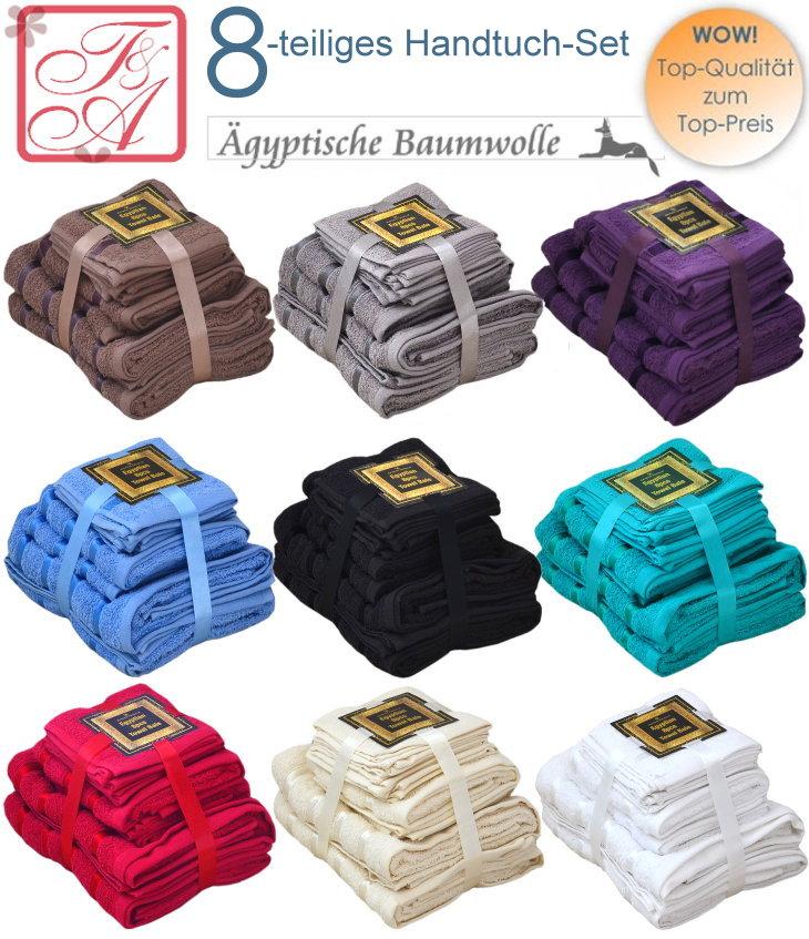 Handtuch Set aus Ägyptischer Baumwolle
