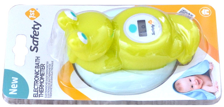 Safety First Badethermometer Frosch