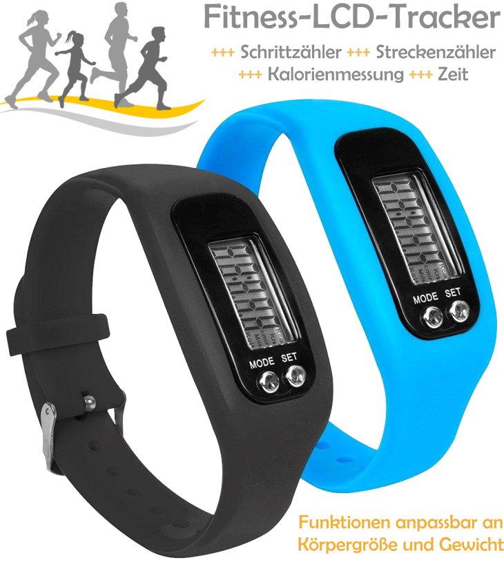 Fitness Armband Uhr Schrittzähler Kalorienmessung