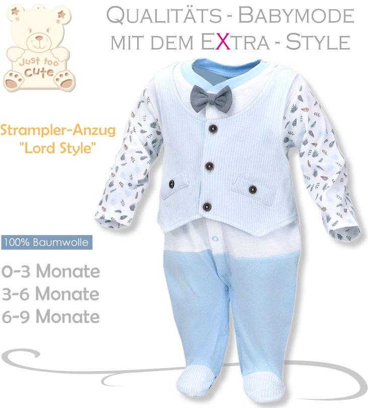 Baby festlicher Strampler-Anzug Lord Style