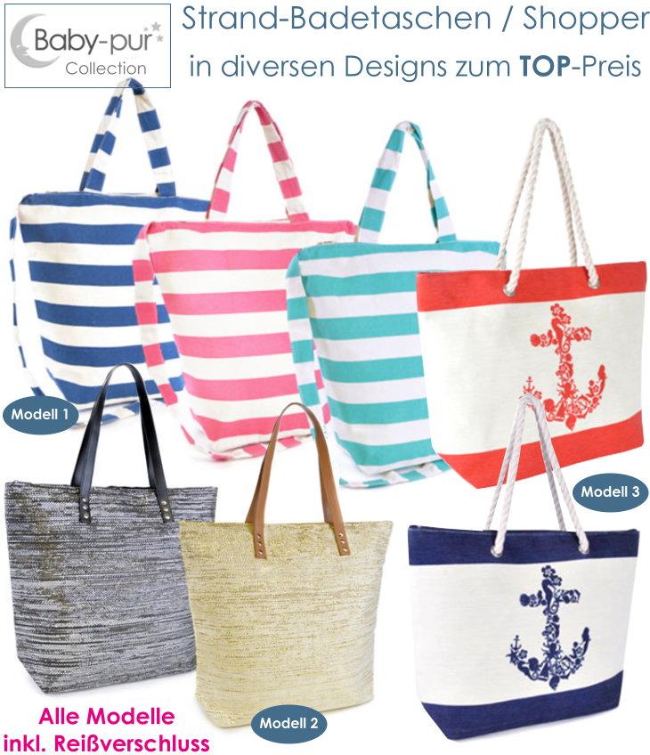 Strandtasche Badetasche Shopper