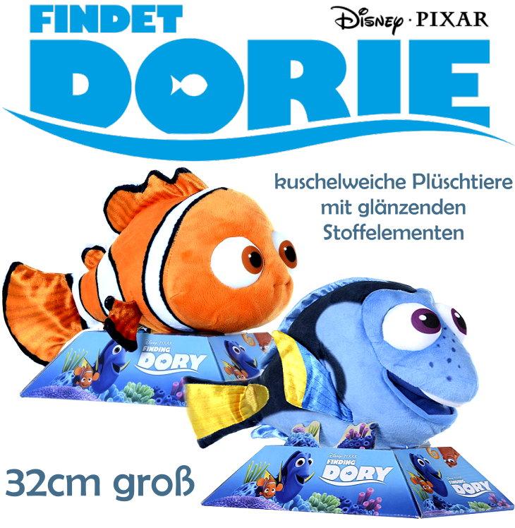 32cm große Disney Plüsch Figur Findet Dorie Dory