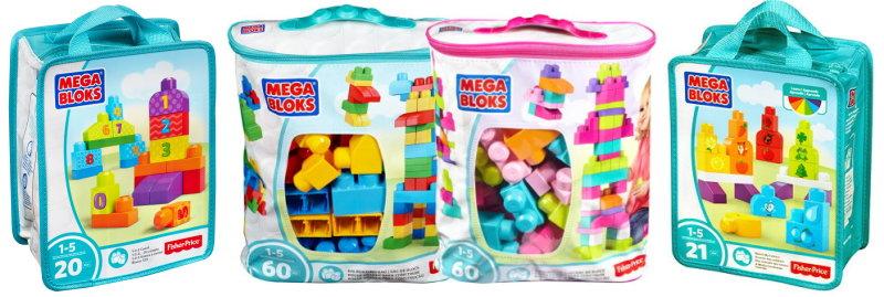 Mega Bloks von Fisher-Price Bausteine für Kleinkinder