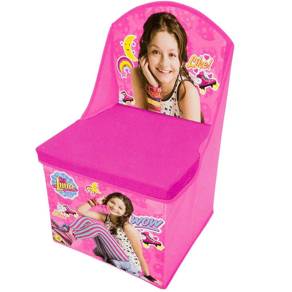 kinderstuhl sessel soy luna disney spielzeugbox hocker mit lehne karol sevilla 3700653519016 ebay. Black Bedroom Furniture Sets. Home Design Ideas