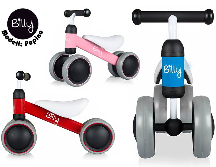 Billy Pepino Laufrad für Kleinkinder