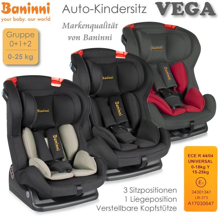 Auto Kindersitz Baninni Vega
