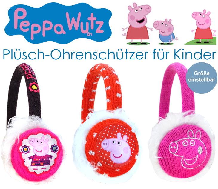 Kinder Ohrenschützer Peppa Wutz Pig