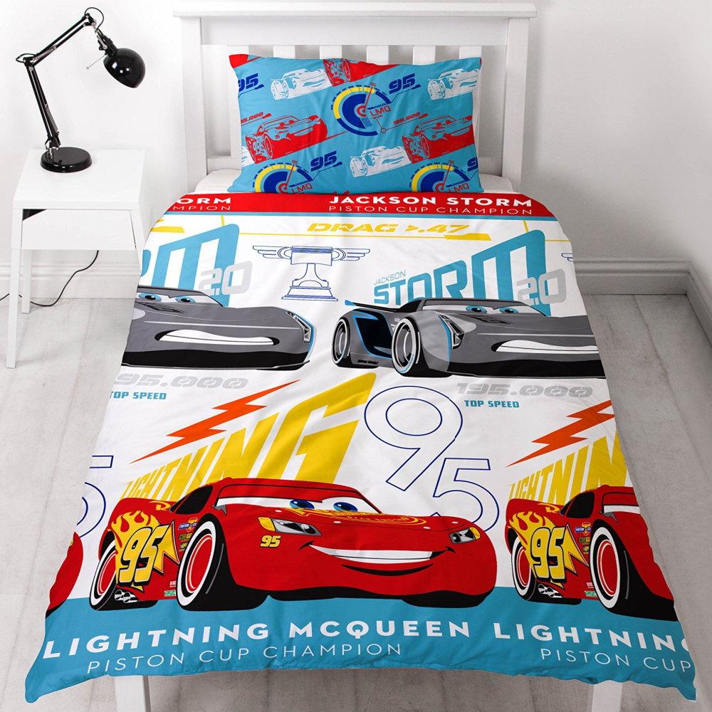 Disney Kinder Bettwäsche Cars 3 Mcqueenstorm 135x200 4581