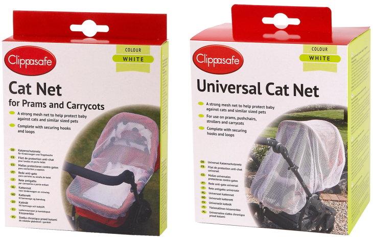 Clippasafe Katzennetz für Kinderwagen