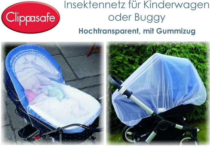 Clippasafe Insektennetz für Kinderwagen