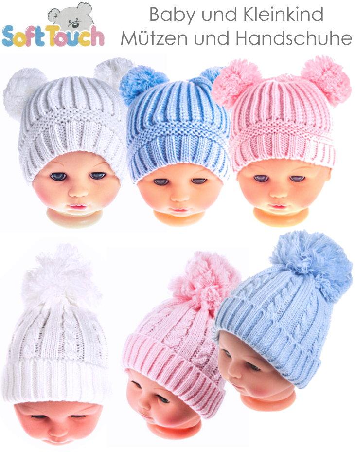 Kindermütze Babymütze und Handschuhe